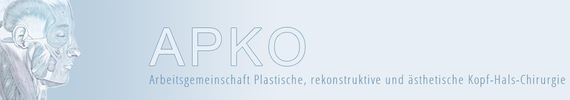 APKO: AG Plastische, rekonstruktive und ästhetische Kopf-Hals-Chirurgie der DGHNOKHC